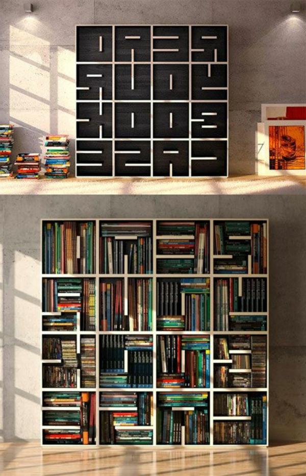 meuble-bibliothèque-idées-d'équipement-créatif