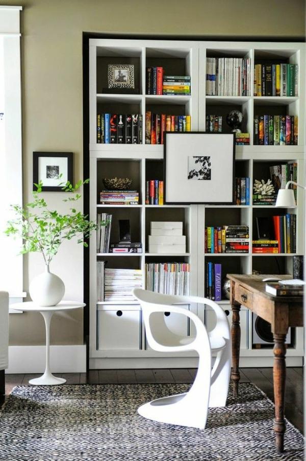meuble-bibliothèque-intégré