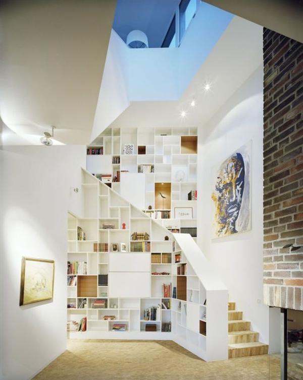 meuble-bibliothèque-intérieur-contemporain