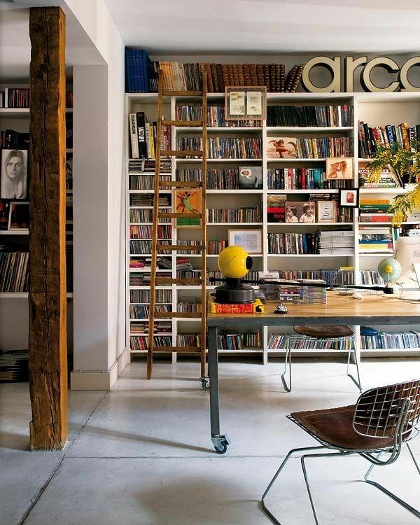meuble-bibliothèque-moderne-décoration-industrielle