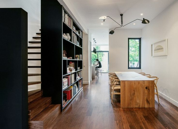 meuble-bibliothèque-moderne