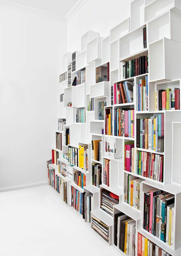 Designs cr atifs de meuble biblioth que for Meuble bibliotheque modulaire