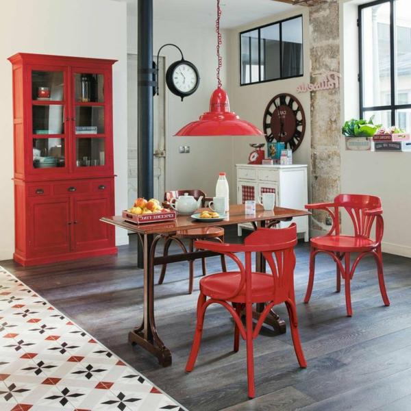 meuble-rouge-cuisine-contemporaine