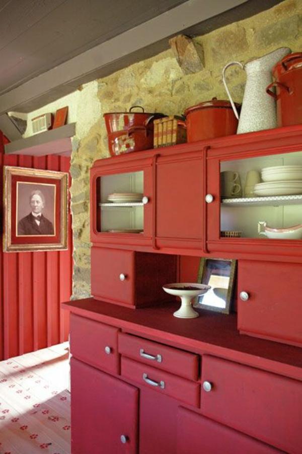 meuble-rouge-cuisine-moderne