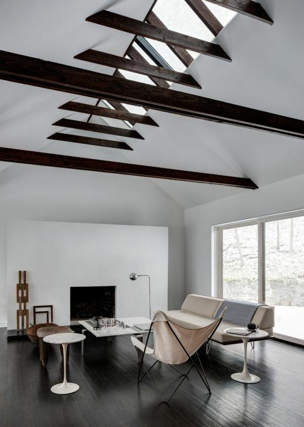 moderne-salle-de-séjour-chaise-papillon