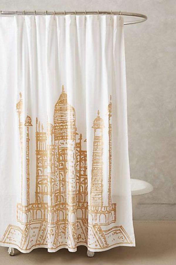or-et-blanc-rideaux-design-rideau-ambiance-amusant-rideau