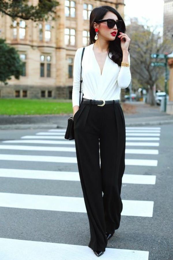 pantalon-taille-haute-blanc-classique