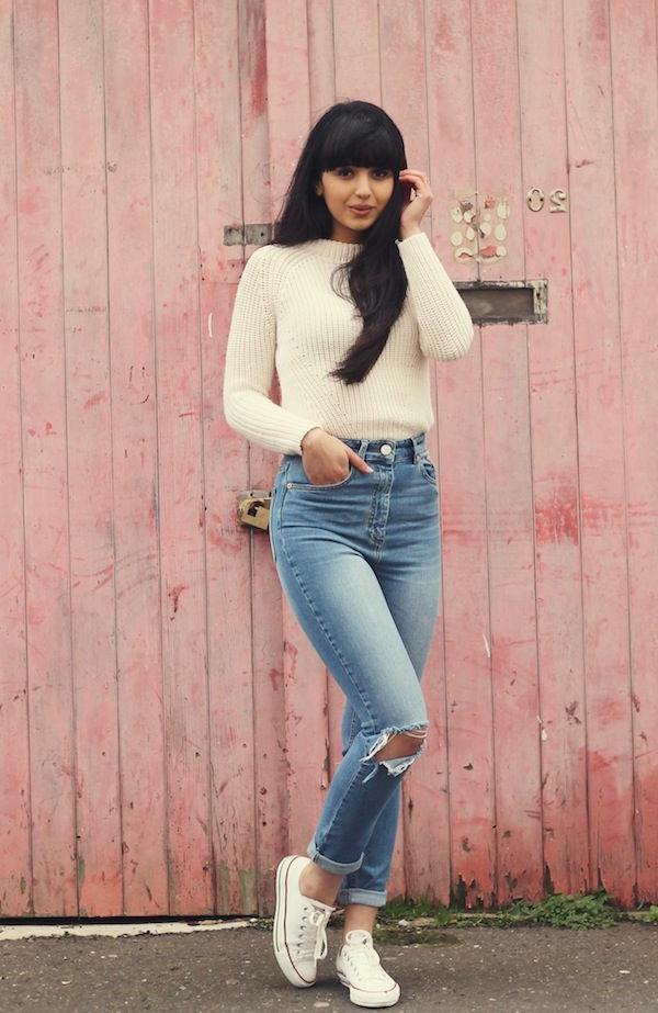 pantalon-taille-haute-jean-femme