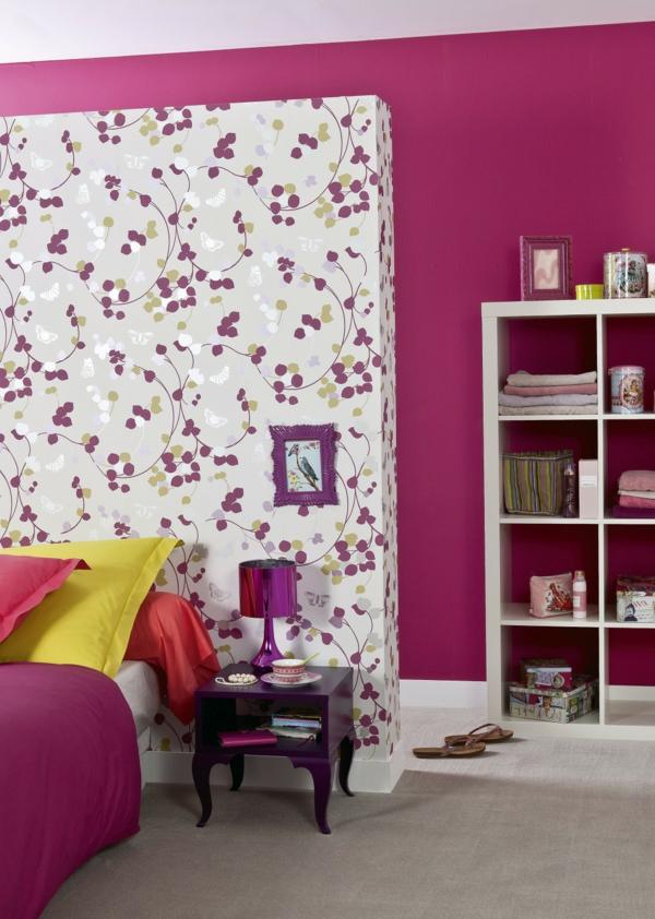 D corez vos murs avec le papier peint original - Papier peint ton sur ton ...