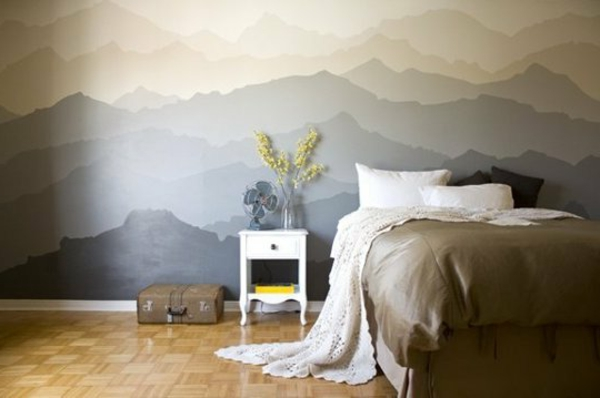 papier-peint-original-art-mural-les-montagnes