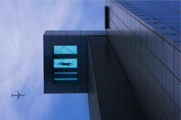 petite-piscine-hors-sol-hôtel-à-Shanghai