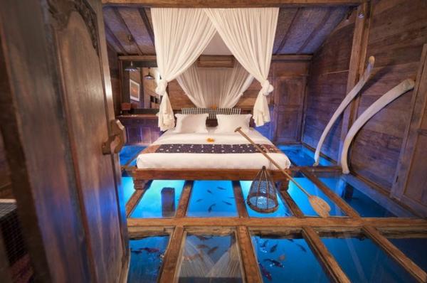 un plancher de verre inspir s par la transparence. Black Bedroom Furniture Sets. Home Design Ideas