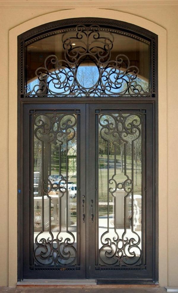 porte-d-entrée-en-verre-classique
