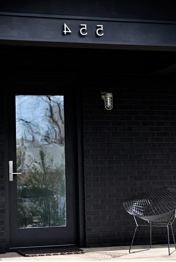 porte-en-verre-noir-classique