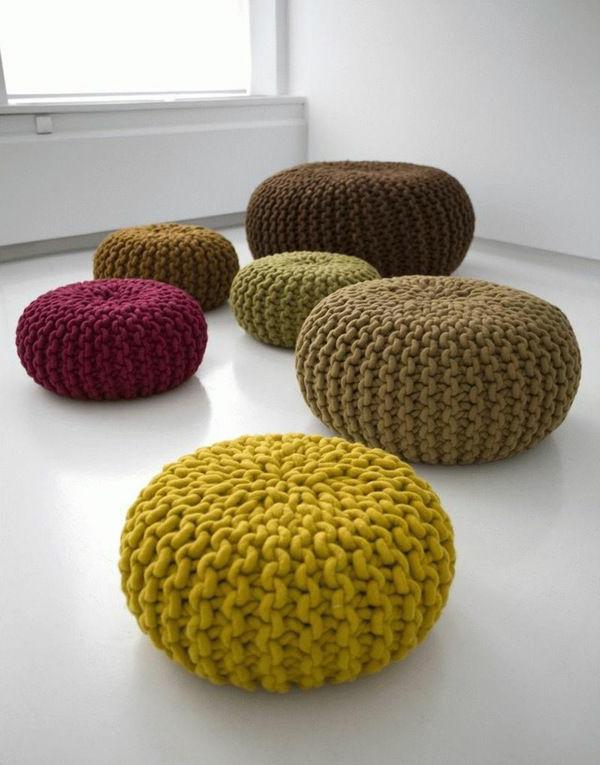 pouf-au-crochet-décoration-facile-pour-les-espaces