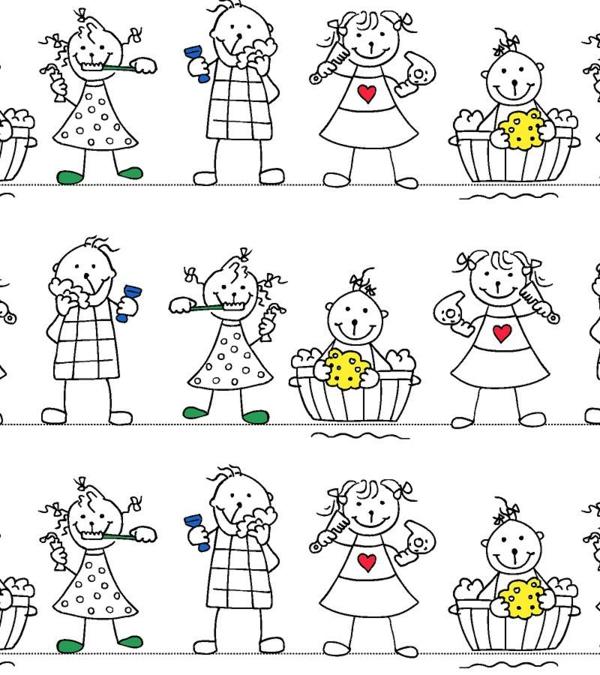 poupées-comment-décorer-la-bain-rideaux-douche