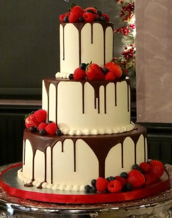 la déco gateau mariage originale romantique et unique des gâteaux d ...