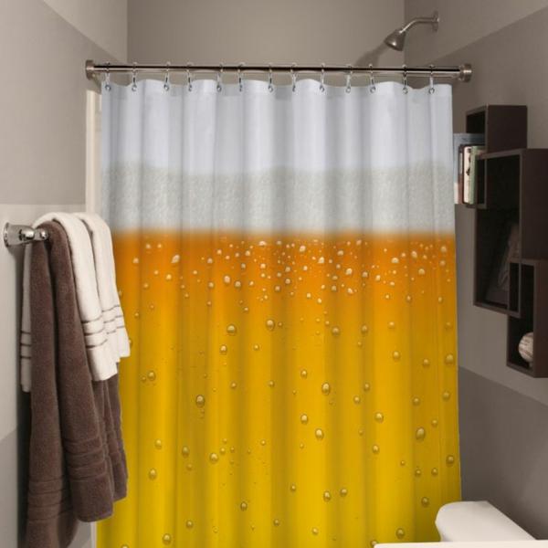 60 id es pour votre rideau de douche original for Rideau de douche chic
