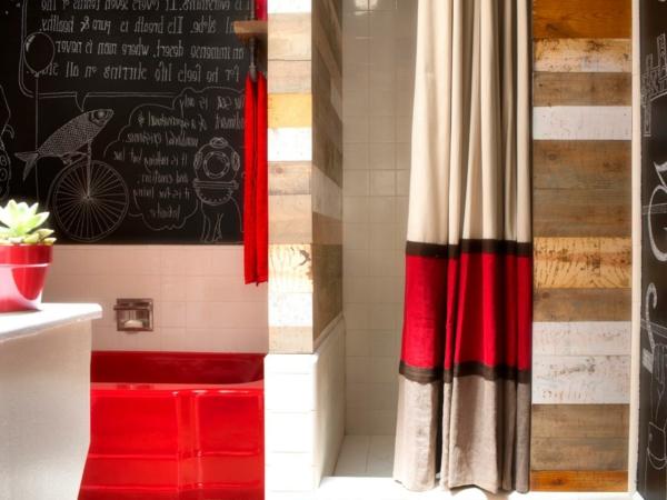 Rideau anglais enrouleur for Rideau de douche original