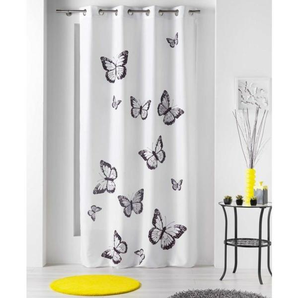 rideau-douche-original-idée-créative-papillons