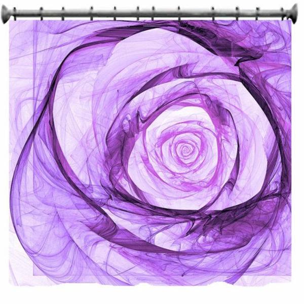 rideau-douche-original-idée-créative-rose