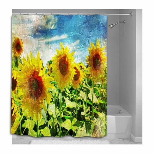 60 id es pour votre rideau de douche original - Salle de reunion avec design original enidees creatives ...