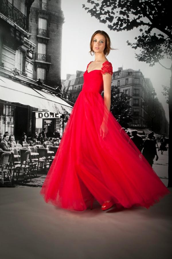 robe de soiree longue rouge et noir. Black Bedroom Furniture Sets. Home Design Ideas