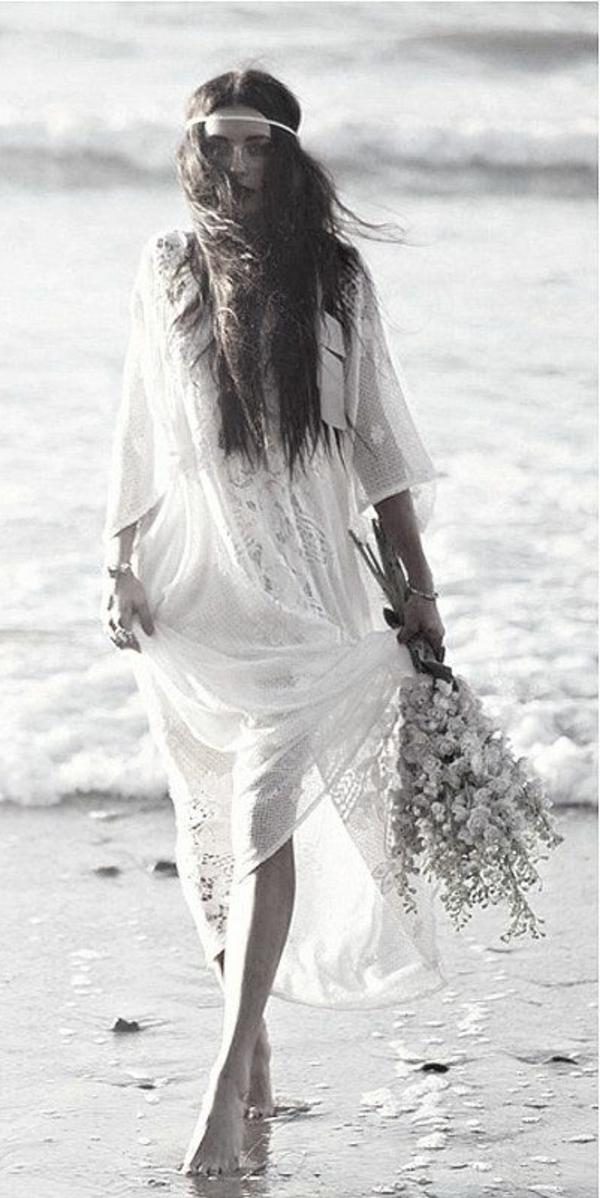 robe-de-mariée-fleurs-accessoires-hippe-boho-mer