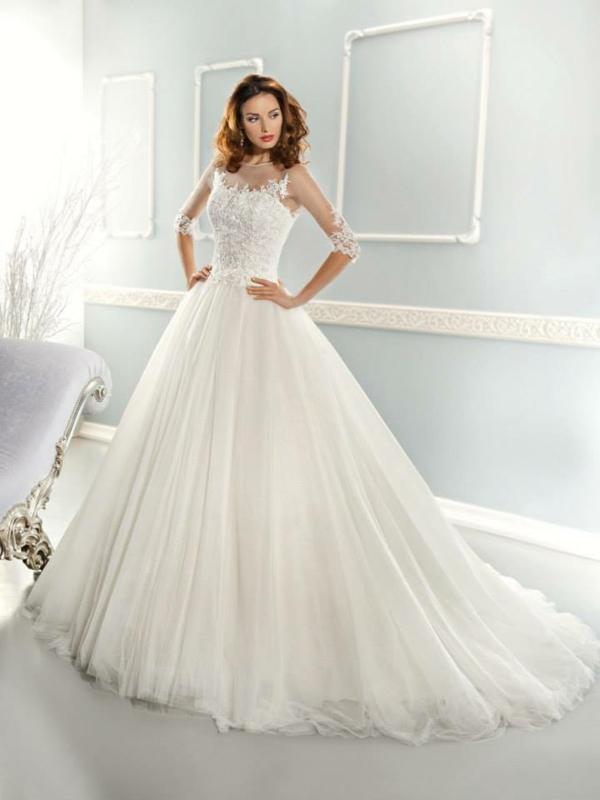 Robe de princesse moderne pour la robe de mariée