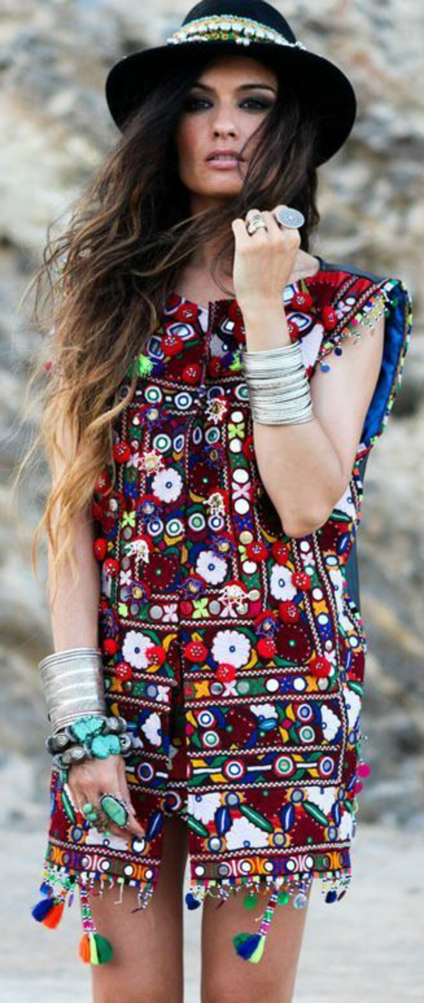 robe-hippie-chic-à-touche-ethno