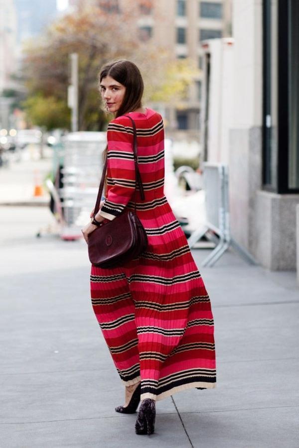 robe-hippie-chic-robe-boho-plissée