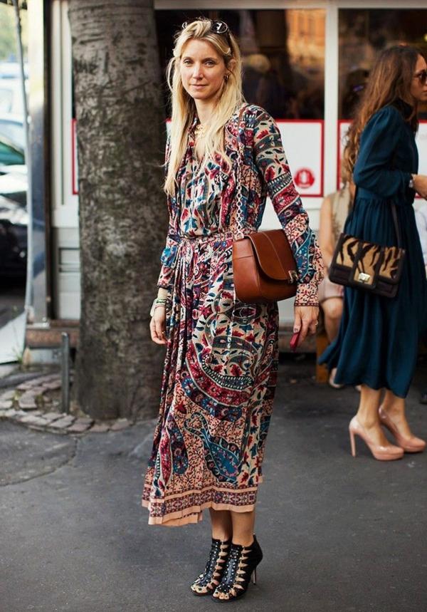 8eeaa4ce3cb Comment portet la robe hippie chic - Archzine.fr