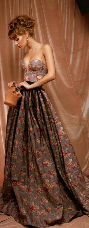 robes-de-cocktail-soirée-importante-motifs-floraux