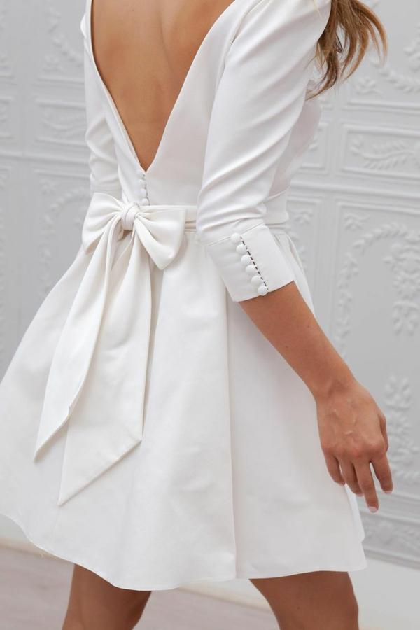 robes-pour-une-mariage-de-princesse-courte