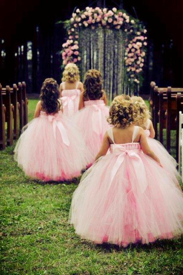 La robe de princesse pour votre mariage for Robes pour enfants pour les mariages