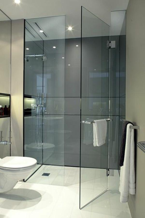 Carrelage salle de bain gris fonce for Carrelage murale salle de bain