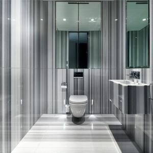 Une salle de bains grise - élégance et chic contemporain
