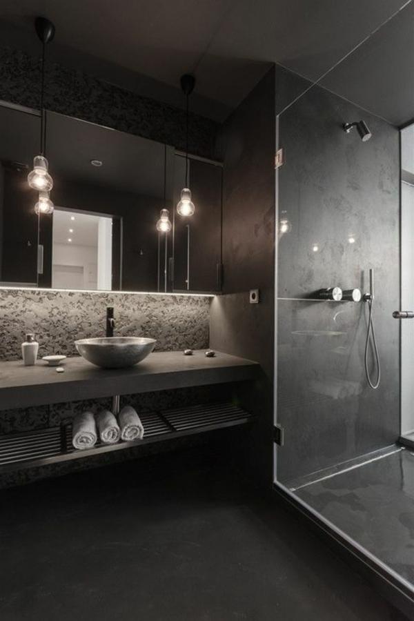 salle-de-bains-grise-lampes-suspendues-magnétiques