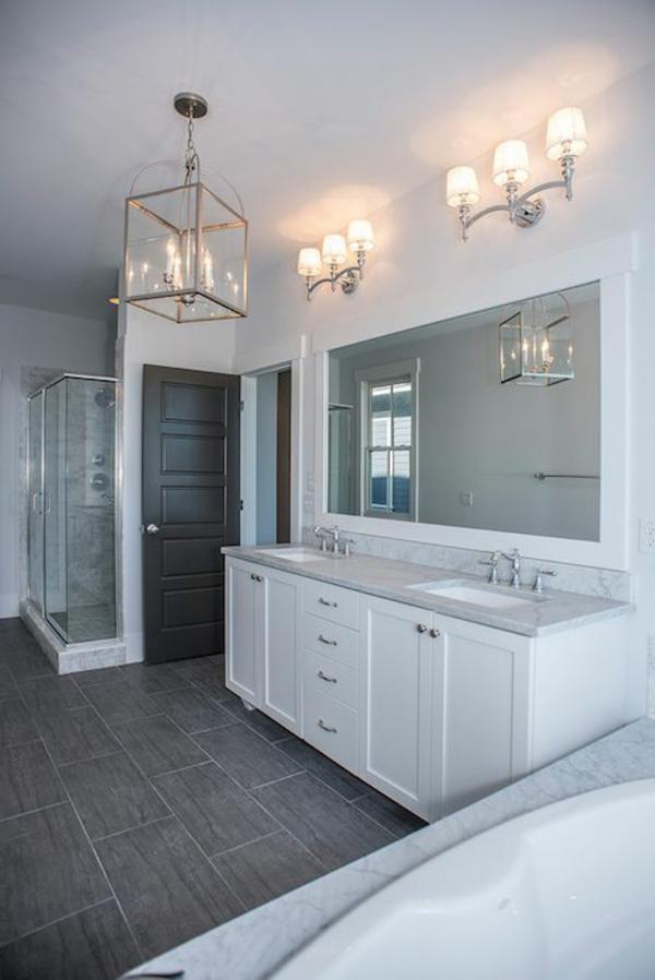 salle-de-bains-grise-meuble-sous-vasque-blanc