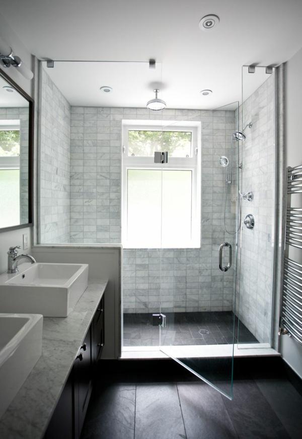 Une salle de bains grise l gance et chic contemporain for Salle de bain claire