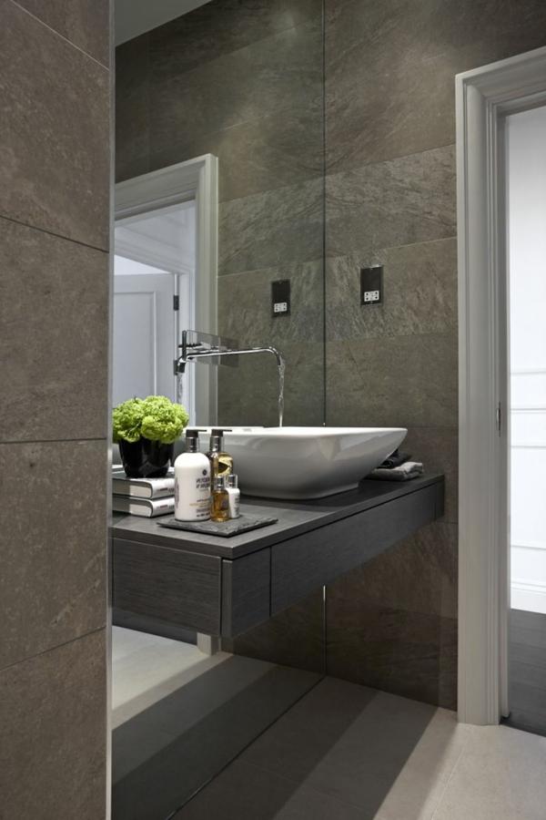 Une salle de bains grise l gance et chic contemporain Salle de bain en gris