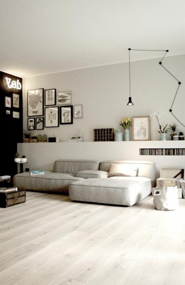 salon-beige-aménagement-classique