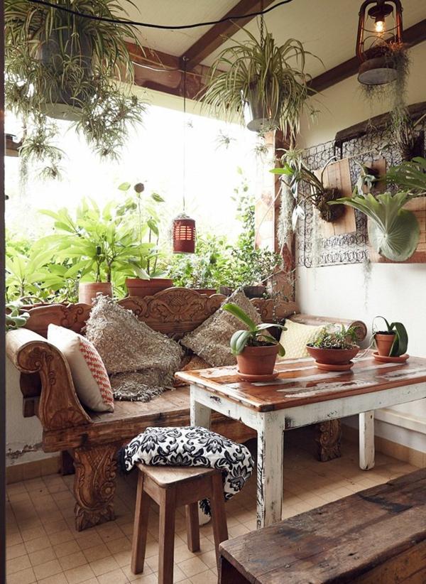 salon-bois-plantes-vertes