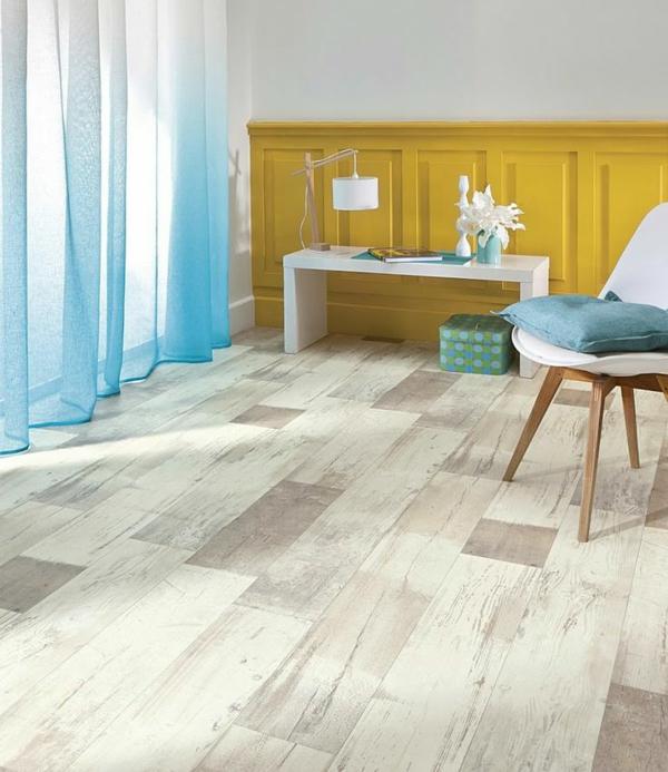 sol-vinyle-beige-chambre-à-coucher