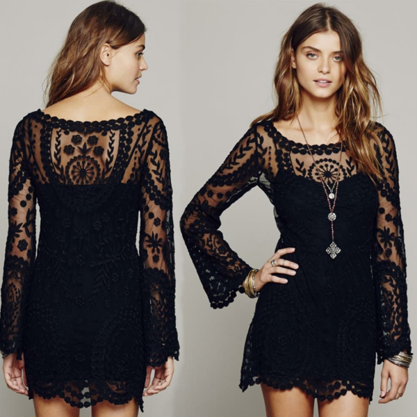 style-boheme-chic-femininos-Crochet-Floral-Lace-embroidery-dresses-Sheer