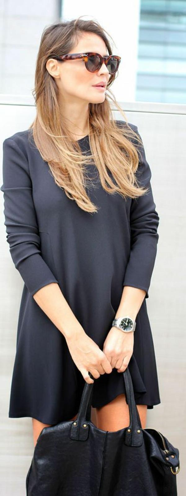 style-elegant-robe-noire-lunettes-de-soleil-dior