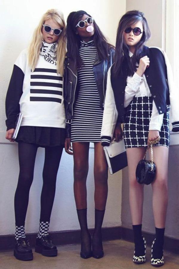 style-gothique-filles-noir-blanc