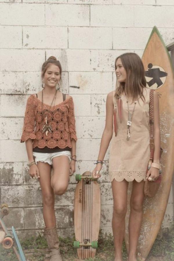 style-retro-chic-vintage-photo-surf-skateboard-tenue-de-jour