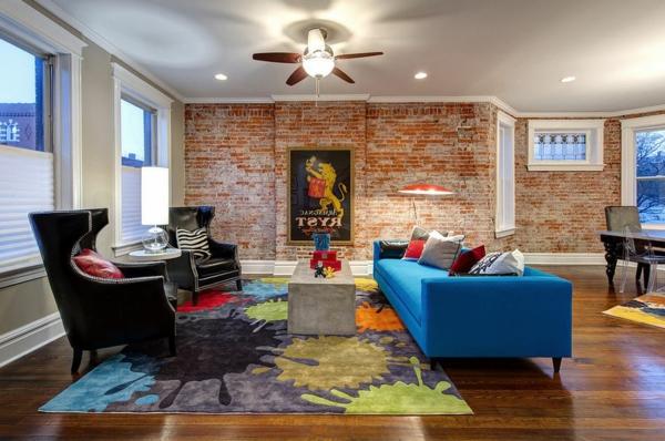 tapis-multicolore-salle-de-séjour-artistique