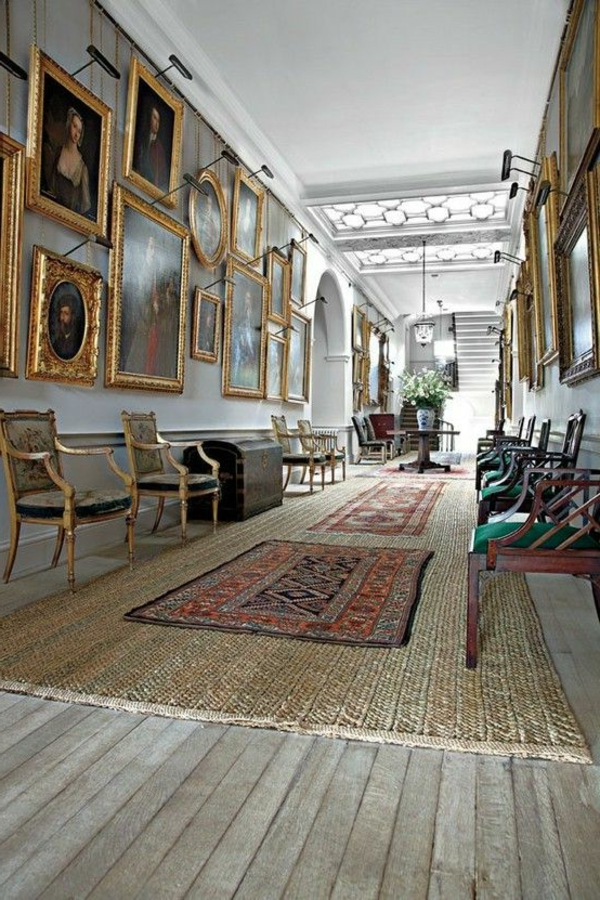 tapis-sisal-dans-un-hall-d'exposition